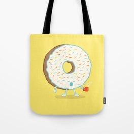 The Sleepy Donut Tote Bag