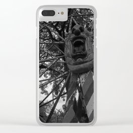 Let's Go For A Ride Clear iPhone Case