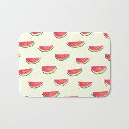 Watercolor Watermelon Bath Mat