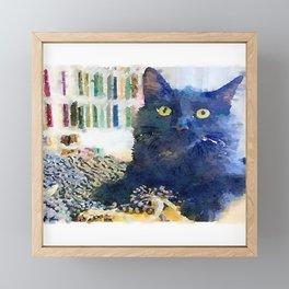 Alfred Watercolor Framed Mini Art Print