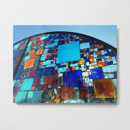 Montegrotto color Metal Print