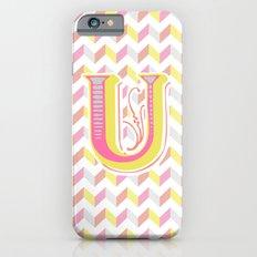 Letter U iPhone 6s Slim Case