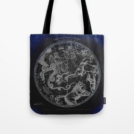 NY, Constellations Tote Bag