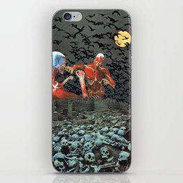 The Intolerable Wrath of Skinless Men iPhone Skin