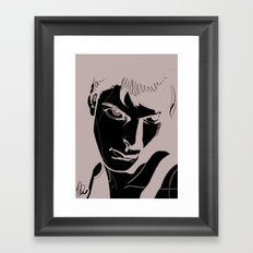 BnW1 Framed Art Print