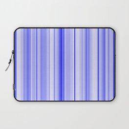 Blue Vertical Stripe Laptop Sleeve