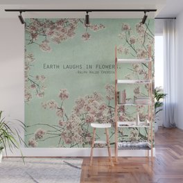 The Earth Laughs in Flowers Wall Mural