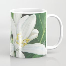 Watercolor Orange Blossom Coffee Mug