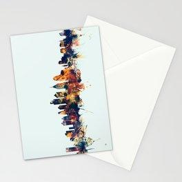 Philadelphia Pennsylvania Skyline Stationery Cards