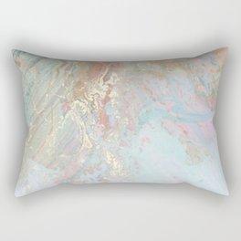 Pastel unicorn marble Rectangular Pillow