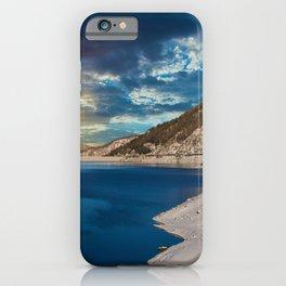 Swiss Alpine Winter Sunset iPhone Case