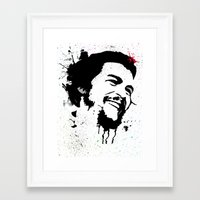 che Framed Art Prints featuring Che by Cynthia Alvarez