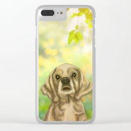 Cocker Spaniel Clear iPhone Case