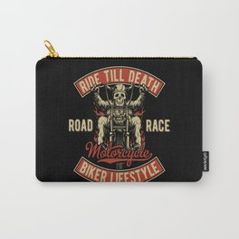 Skeleton Motorcycle Carry-All Pouch