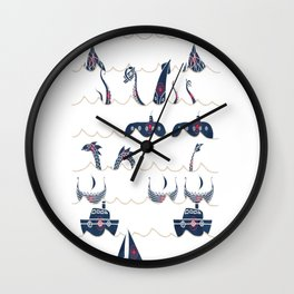 Shooting-Gallery Wall Clock