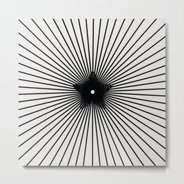 pattern 100 Metal Print