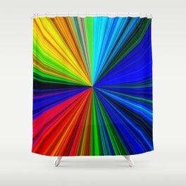 Spectrum - Fractal Art Shower Curtain