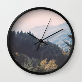 Smoky Mountains National Park Wall Clock