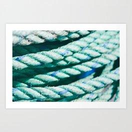 Nautical Rope II Art Print