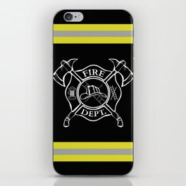 Firefighter Home iPhone Skin