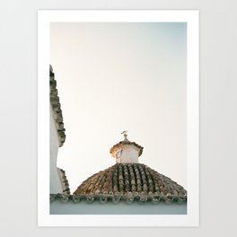 "Travel photography ""Ibiza Sunset rooftop"" 