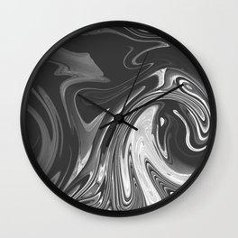 SHACKLE - BLACK Wall Clock