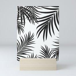 Palm Leaves Pattern Summer Vibes #2 #tropical #decor #art #society6 Mini Art Print