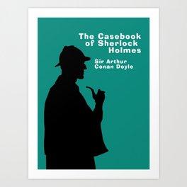 The Casebook of Sherlock Holmes Art Print