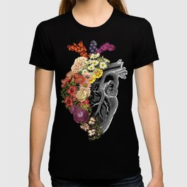 Flower Heart Spring T-shirt