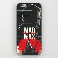 mad max iPhone & iPod Skins featuring Mad Max - fury road by FourteenLab