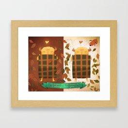Sleeping Monster Framed Art Print