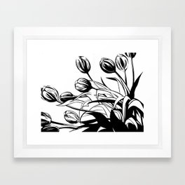 Tulips Framed Art Print
