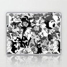 Black butterflies Laptop & iPad Skin