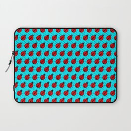Ladybugs Pattern-Teal Laptop Sleeve
