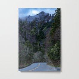 Appalachian Smoke Metal Print