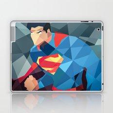 DC Comics Man of Steel Laptop & iPad Skin