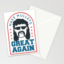 Make Mullets Great Again Stationery Cards
