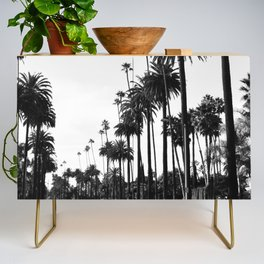Los Angeles Black and White Credenza