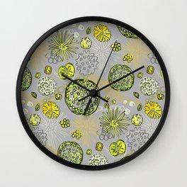 Algae mix Wall Clock
