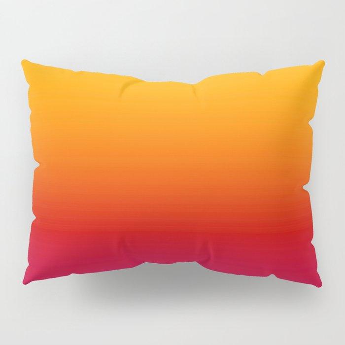 sunSET Ombre Gradient Pillow Sham