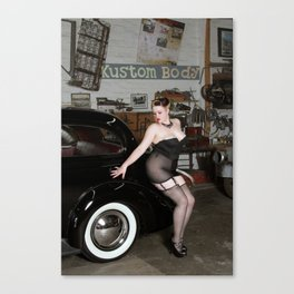 Kustom Kaddie By Vestige  Canvas Print