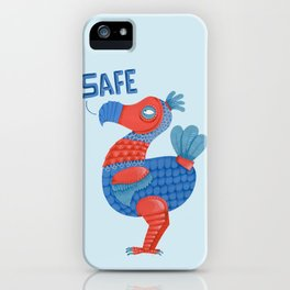 Safe Dodo iPhone Case