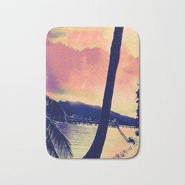 Tempest Island (Warmer Version) Bath Mat