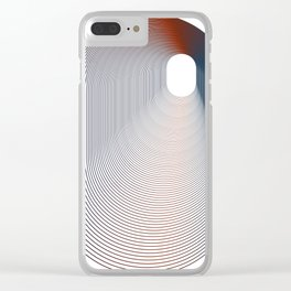 Concentration art Clear iPhone Case