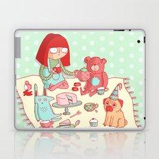 Tea party! Laptop & iPad Skin