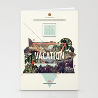 island Stationery Cards featuring island Vacation by Dawn Gardner