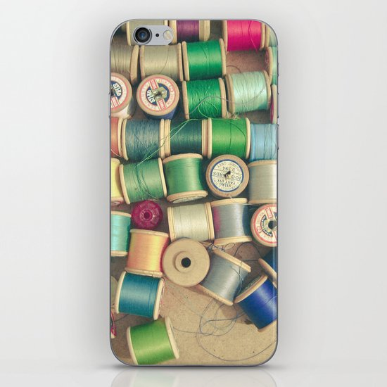 Cotton Reels iPhone & iPod Skin