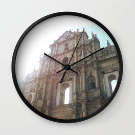 Ruins of St. Paul's Wall Clock