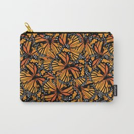 Monarch Butterflies Pattern | Butterfly Pattern | Carry-All Pouch