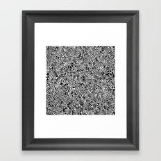 The Mash Framed Art Print